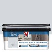 Peinture Décolab 100% étanche V33, Gris manganèse, 2 l