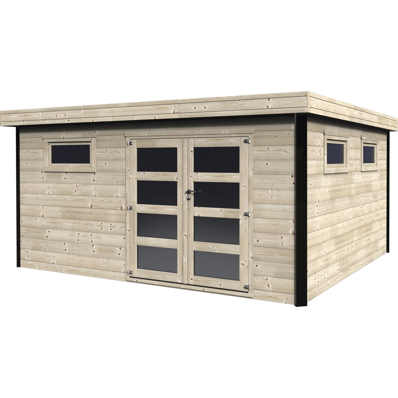 abri bois leroy merlin. Black Bedroom Furniture Sets. Home Design Ideas