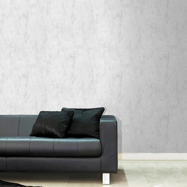 papier peint vinyle expans sur papier madrid gris larg m leroy merlin. Black Bedroom Furniture Sets. Home Design Ideas