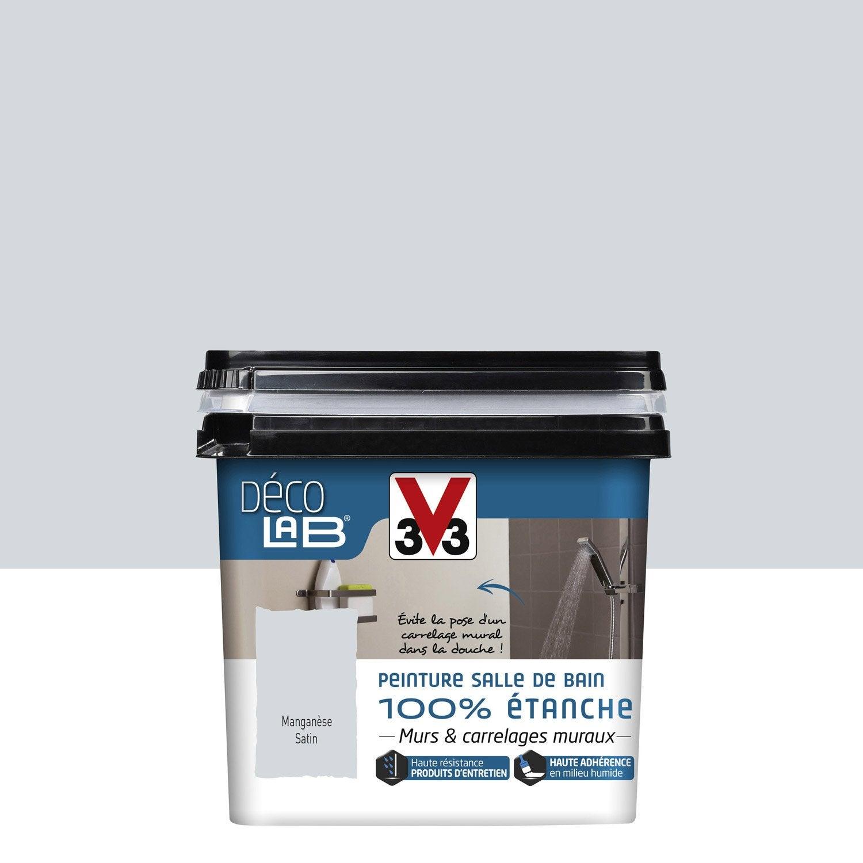 peinture d colab 100 tanche v33 gris mangan se l. Black Bedroom Furniture Sets. Home Design Ideas