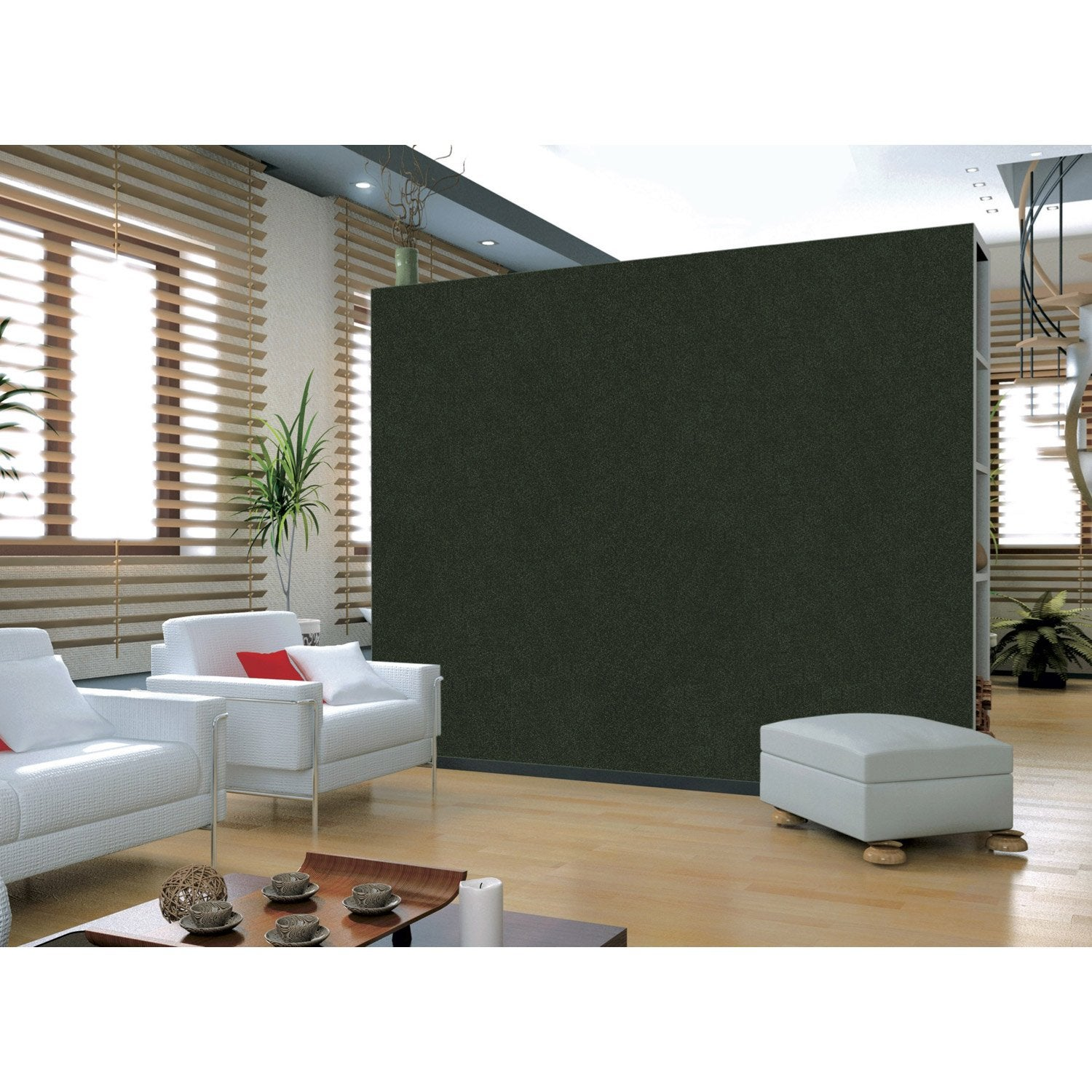 dalle de li ge murale marron x cm leroy merlin. Black Bedroom Furniture Sets. Home Design Ideas