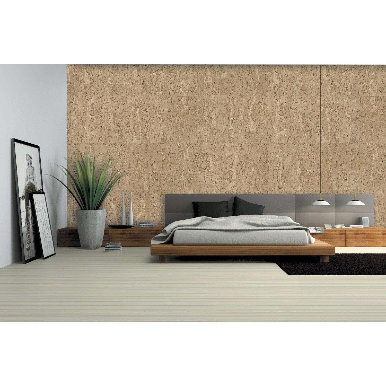 dalle de li ge murale blanc x cm leroy merlin. Black Bedroom Furniture Sets. Home Design Ideas