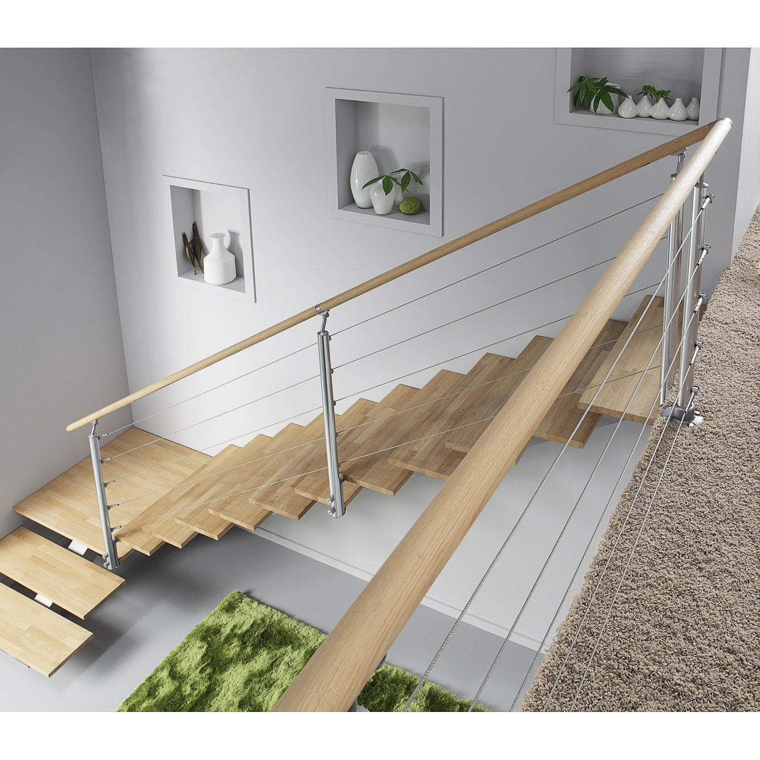 Balustrade quadro obapi leroy merlin - Pose escalier escamotable leroy merlin ...