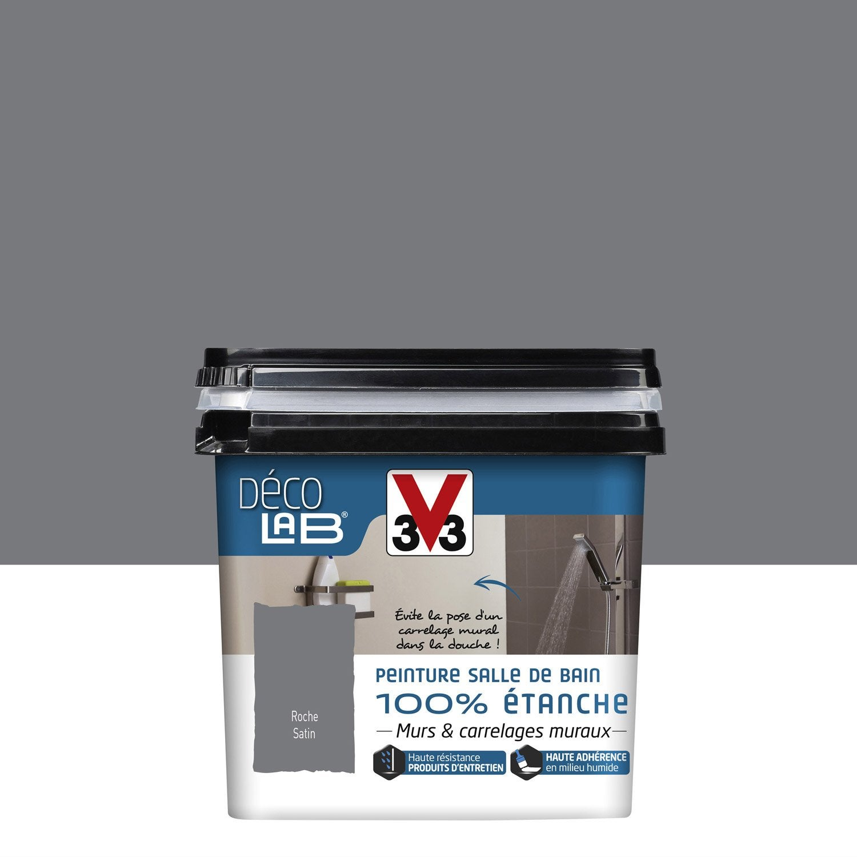 peinture d colab 100 tanche v33 gris roche l leroy merlin. Black Bedroom Furniture Sets. Home Design Ideas