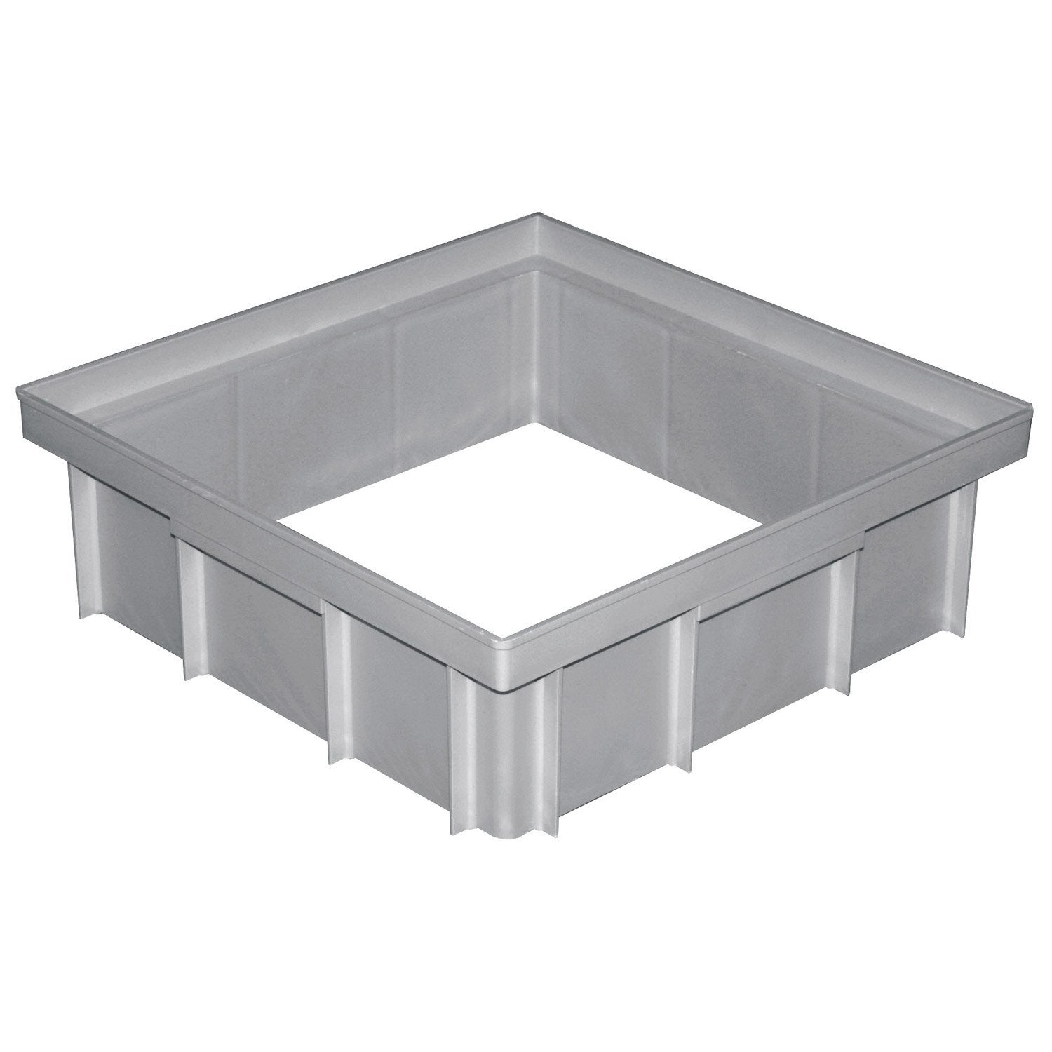 Rehausse polypropyl ne 30x30x10 cm leroy merlin - Table de cuisson leroy merlin ...
