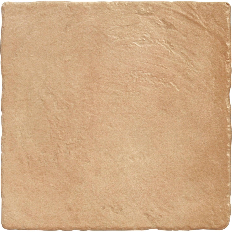 Carrelage abricot effet pierre toscane x cm for Carrelage 5 cm