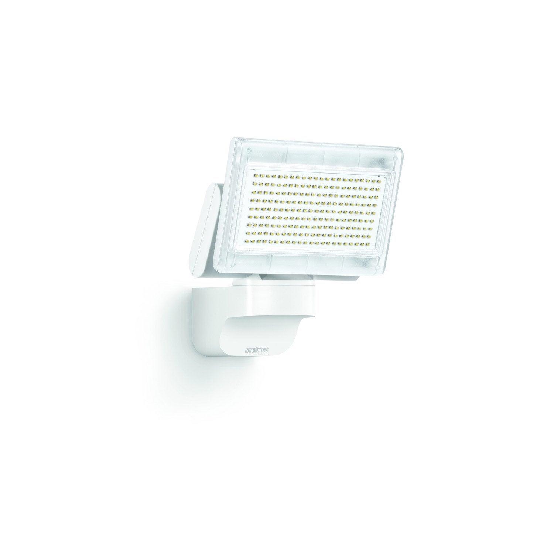 projecteur fixer ext rieur led int gr e 14 8 w 920 lm blanc steinel leroy merlin. Black Bedroom Furniture Sets. Home Design Ideas