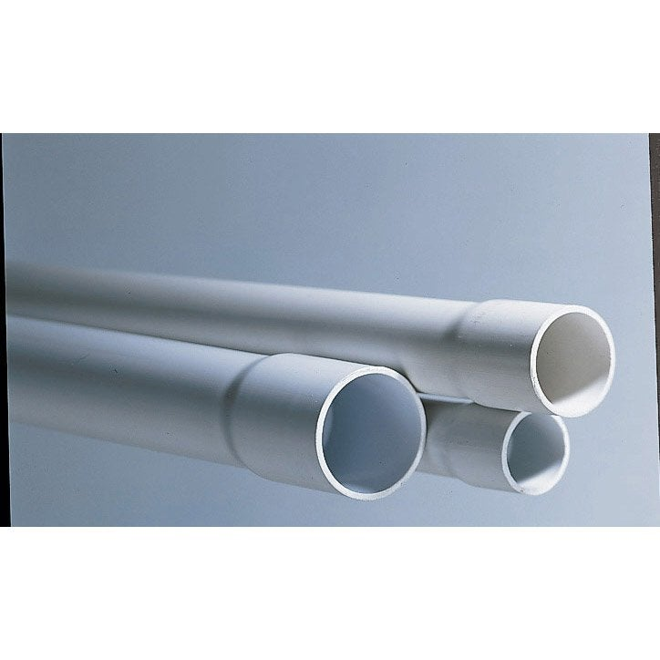 Tube irl diam 25 mm polypipe leroy merlin for Tube rectangulaire alu leroy merlin