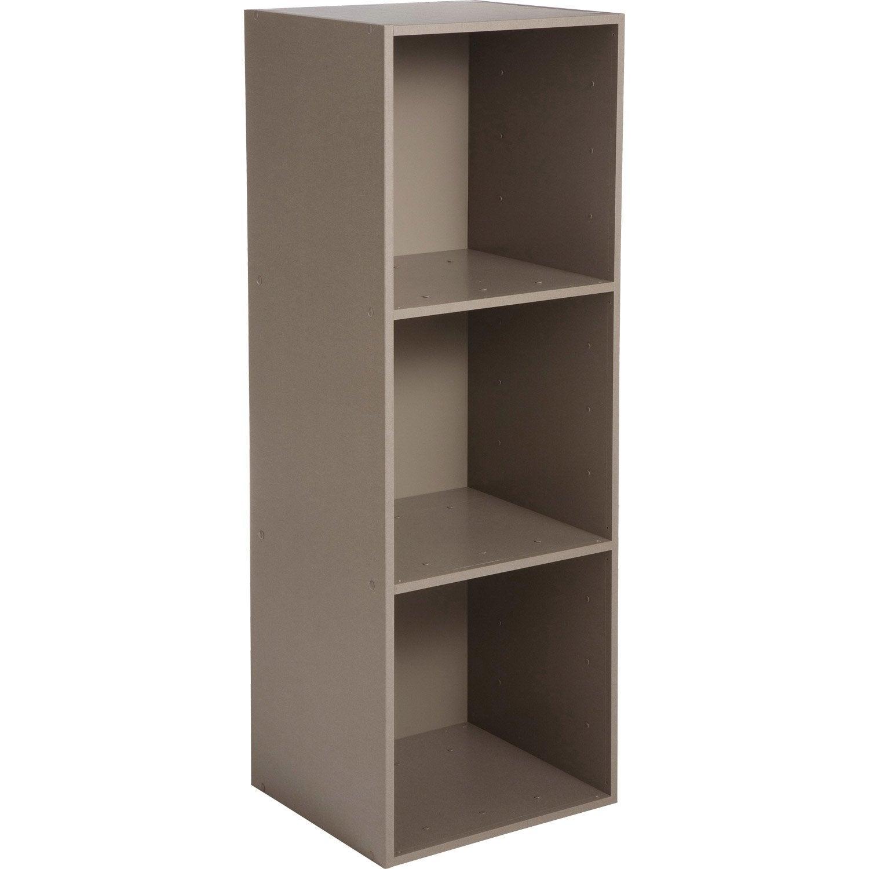 etag re 3 cases multikaz taupe l35 2 x h103 2 x p31 7 cm. Black Bedroom Furniture Sets. Home Design Ideas