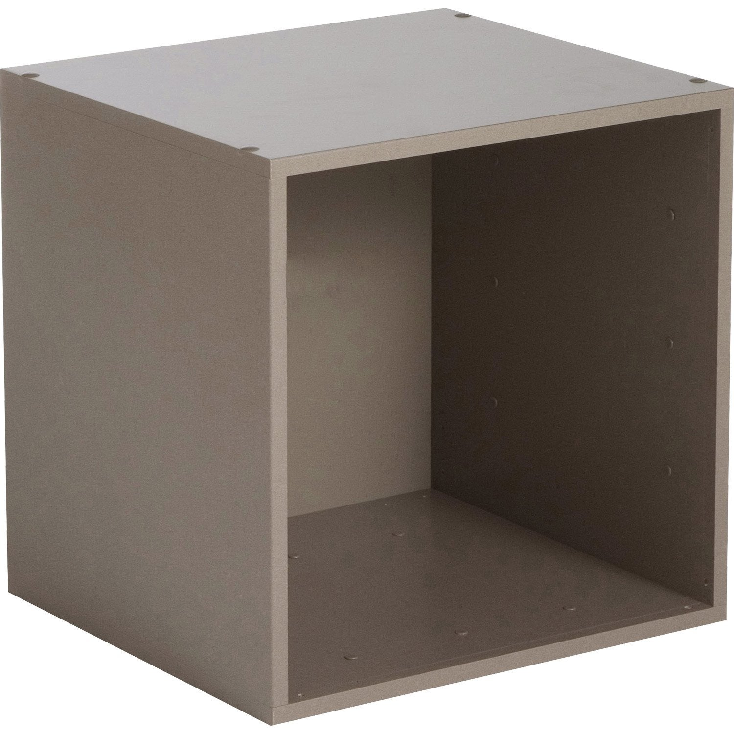 Etag re 1 case multikaz taupe x x cm leroy merlin - Cube rangement leroy merlin ...