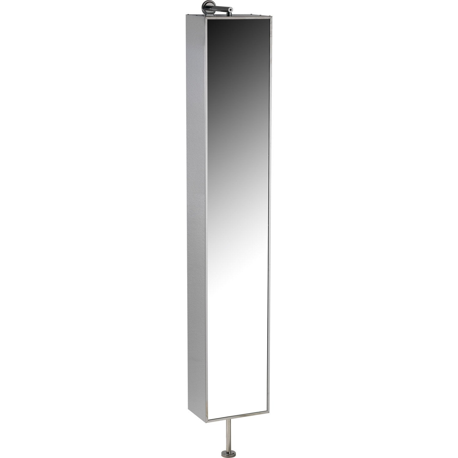 Armoire de toilette imitation m tal cm urban for Miroir tournant