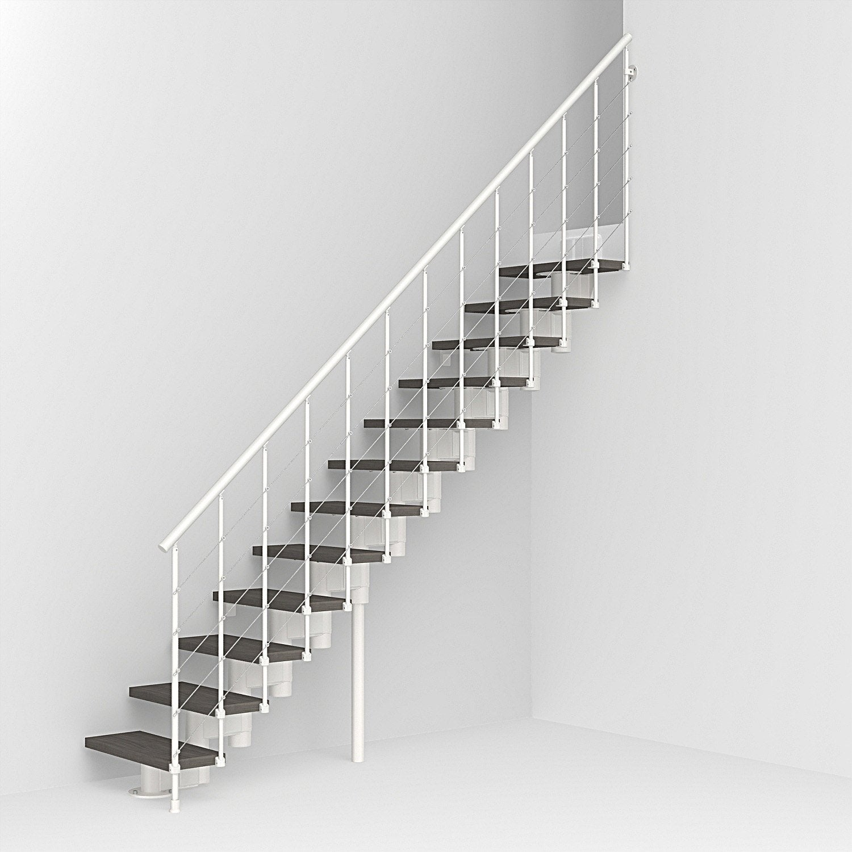 escalier modulaire longline leroy merlin. Black Bedroom Furniture Sets. Home Design Ideas