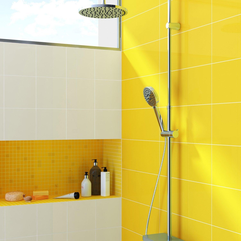 Carrelage metro jaune si vous tes inspir par le design for Carrelage jaune