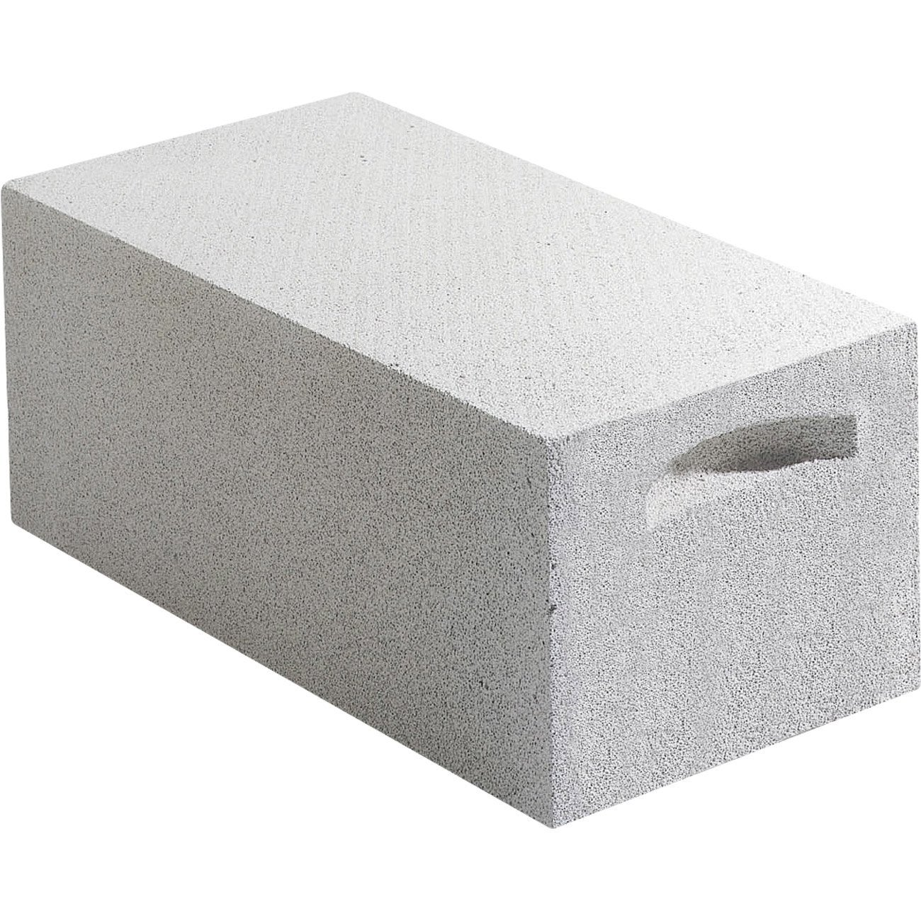 Bloc beton cellulaire for Garage bloc beton