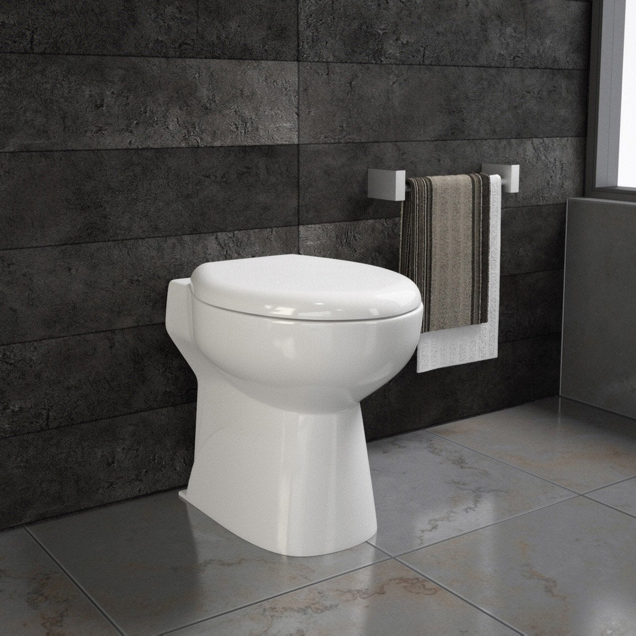 Wc compact avec broyeur integr sensea remix leroy merlin - Meuble lave main wc leroy merlin ...