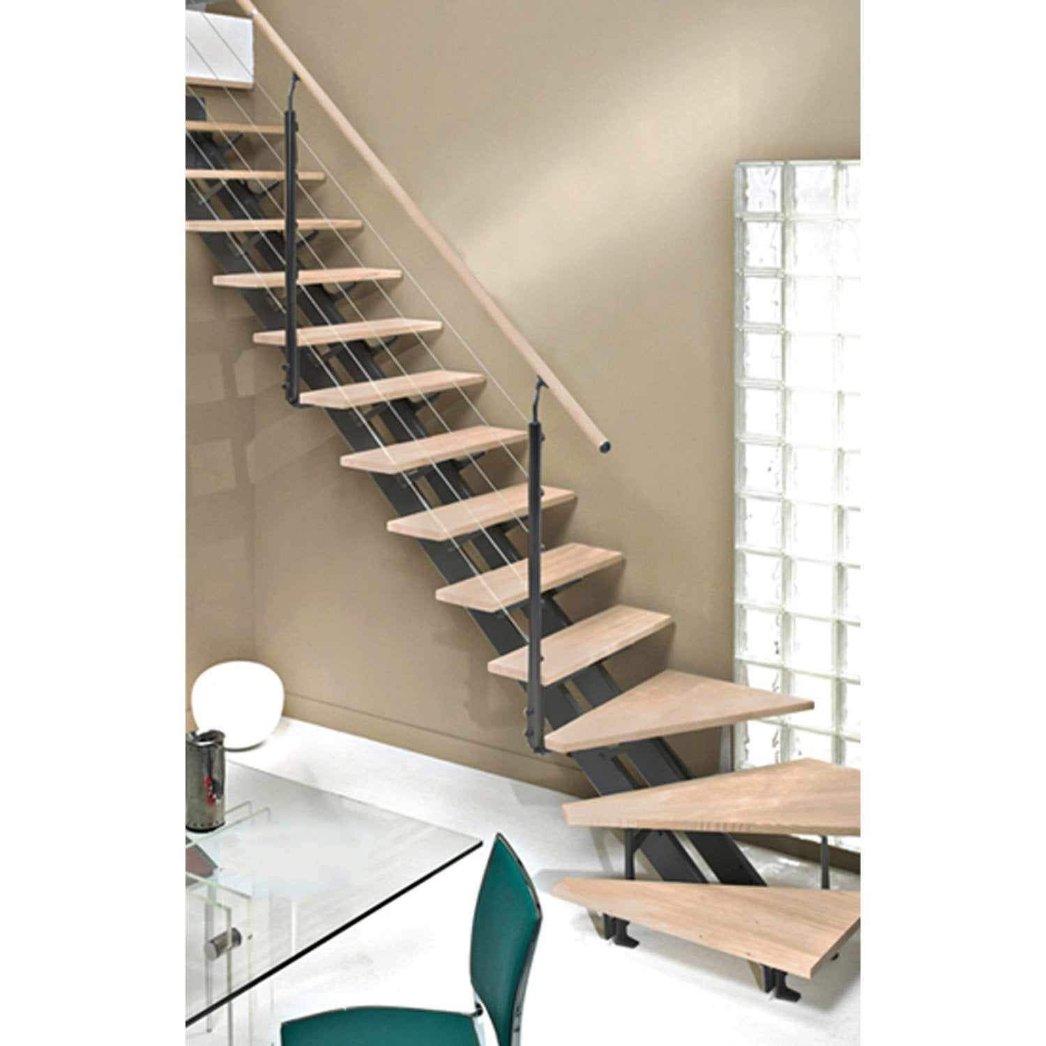 habillage escalier bois top balancoire leroy merlin habillage escalier bois pour bebe siege. Black Bedroom Furniture Sets. Home Design Ideas