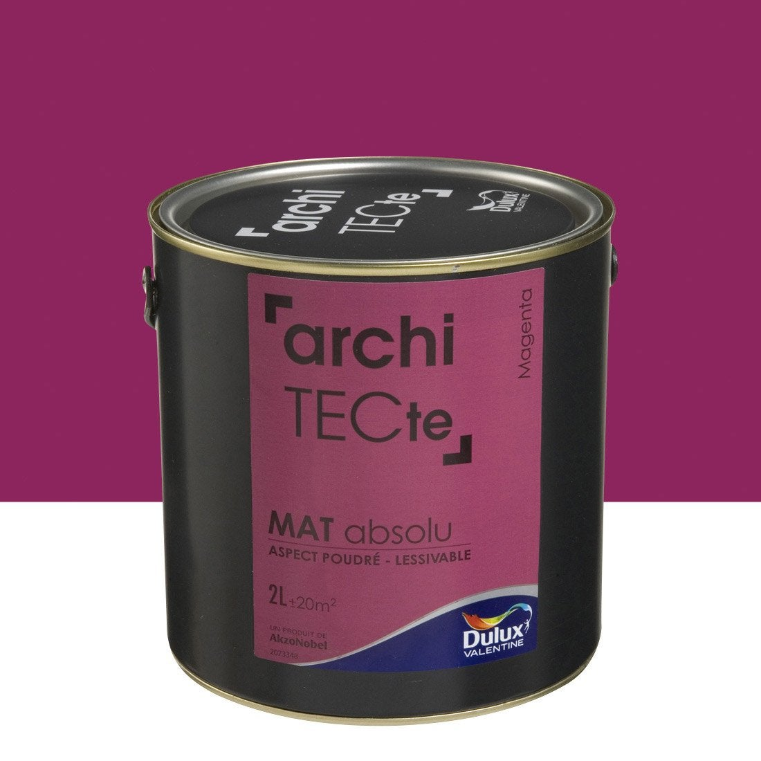 peinture rose magenta dulux valentine architecte 2 l leroy merlin. Black Bedroom Furniture Sets. Home Design Ideas
