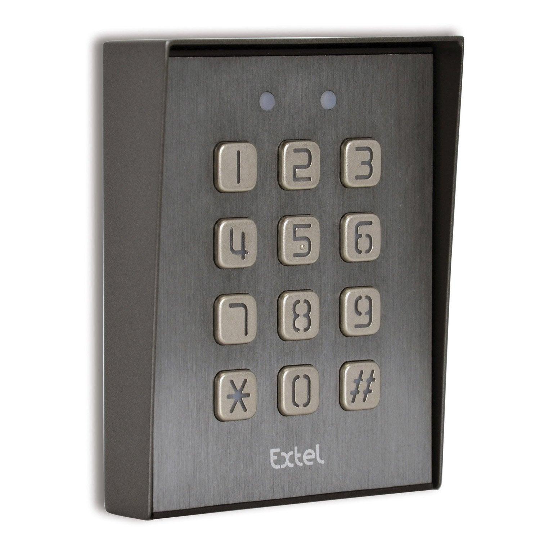 clavier code filaire extel klavy 3 leroy merlin. Black Bedroom Furniture Sets. Home Design Ideas
