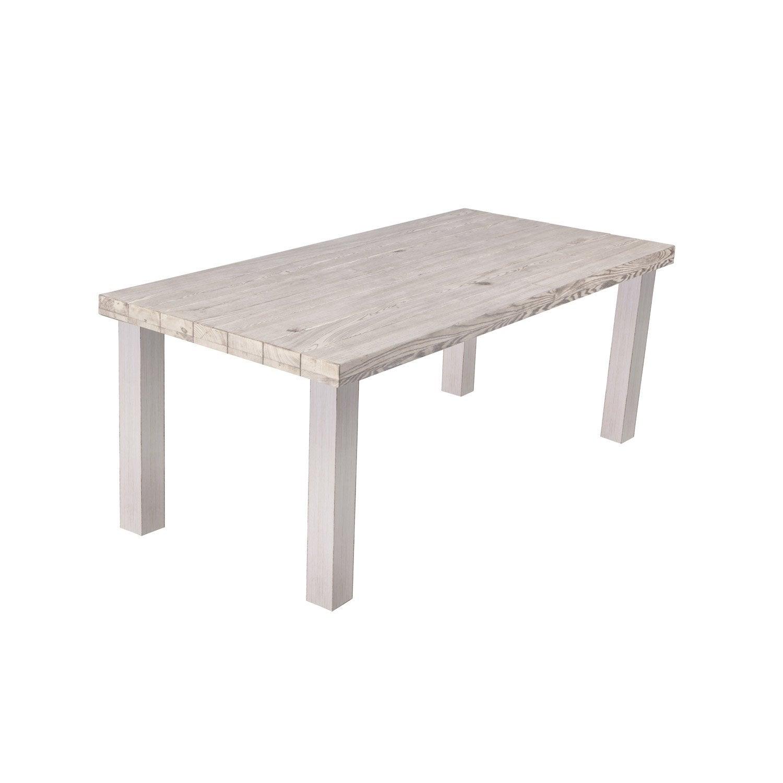 Table de jardin rectangulaire bruges leroy merlin - Leroy merlin jardin sevilla la rochelle ...