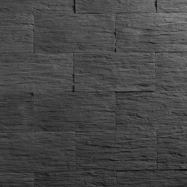 Plaquette de parement b ton anthracite angeroise leroy merlin - Colle beton cellulaire leroy merlin ...