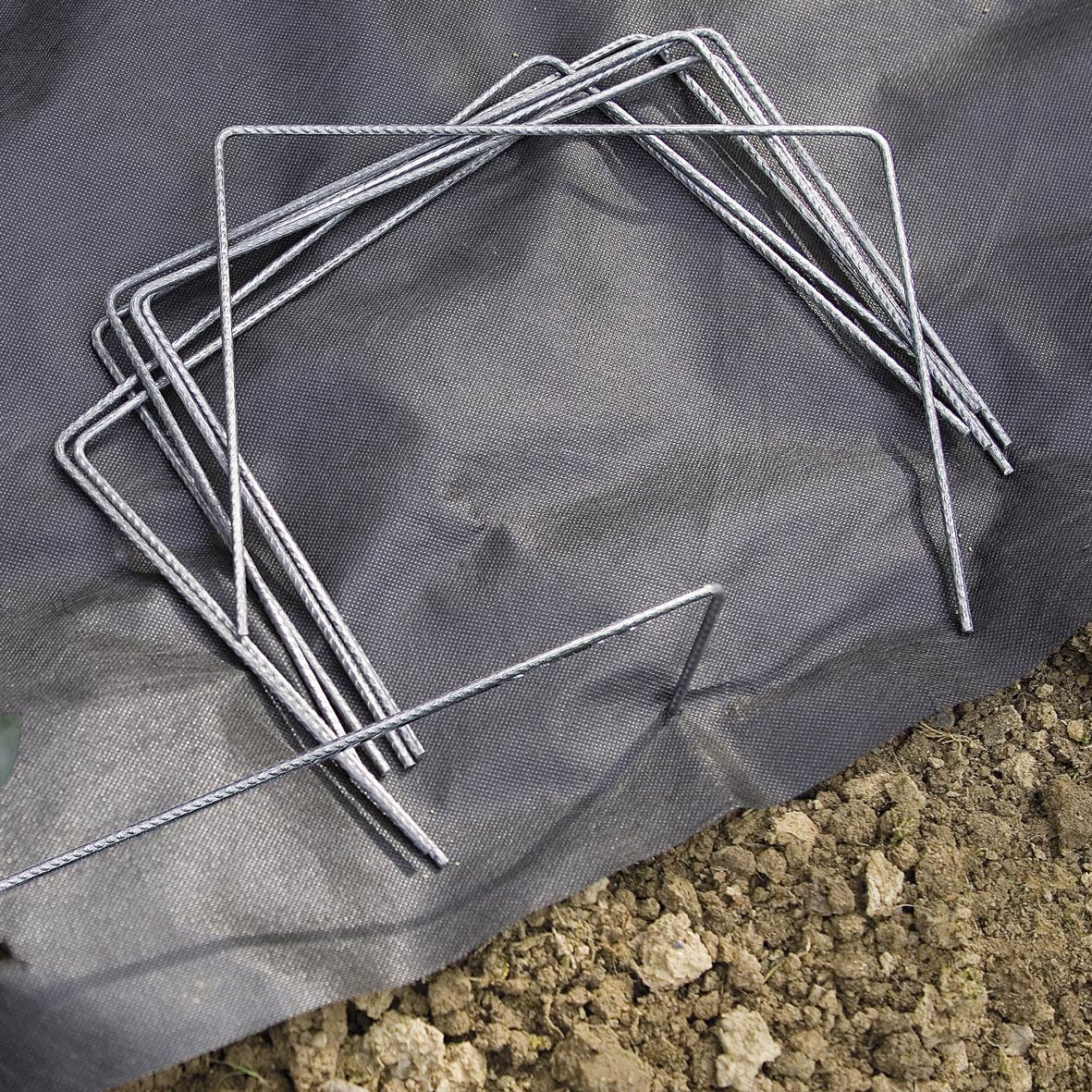 100 agrafes m talliques fixation des toiles nortene leroy merlin. Black Bedroom Furniture Sets. Home Design Ideas