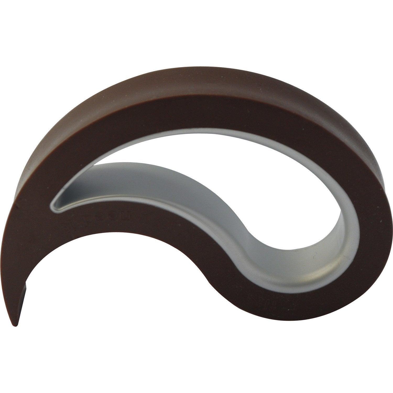 but e de porte polypropyl ne h 6 4 x cm leroy merlin. Black Bedroom Furniture Sets. Home Design Ideas