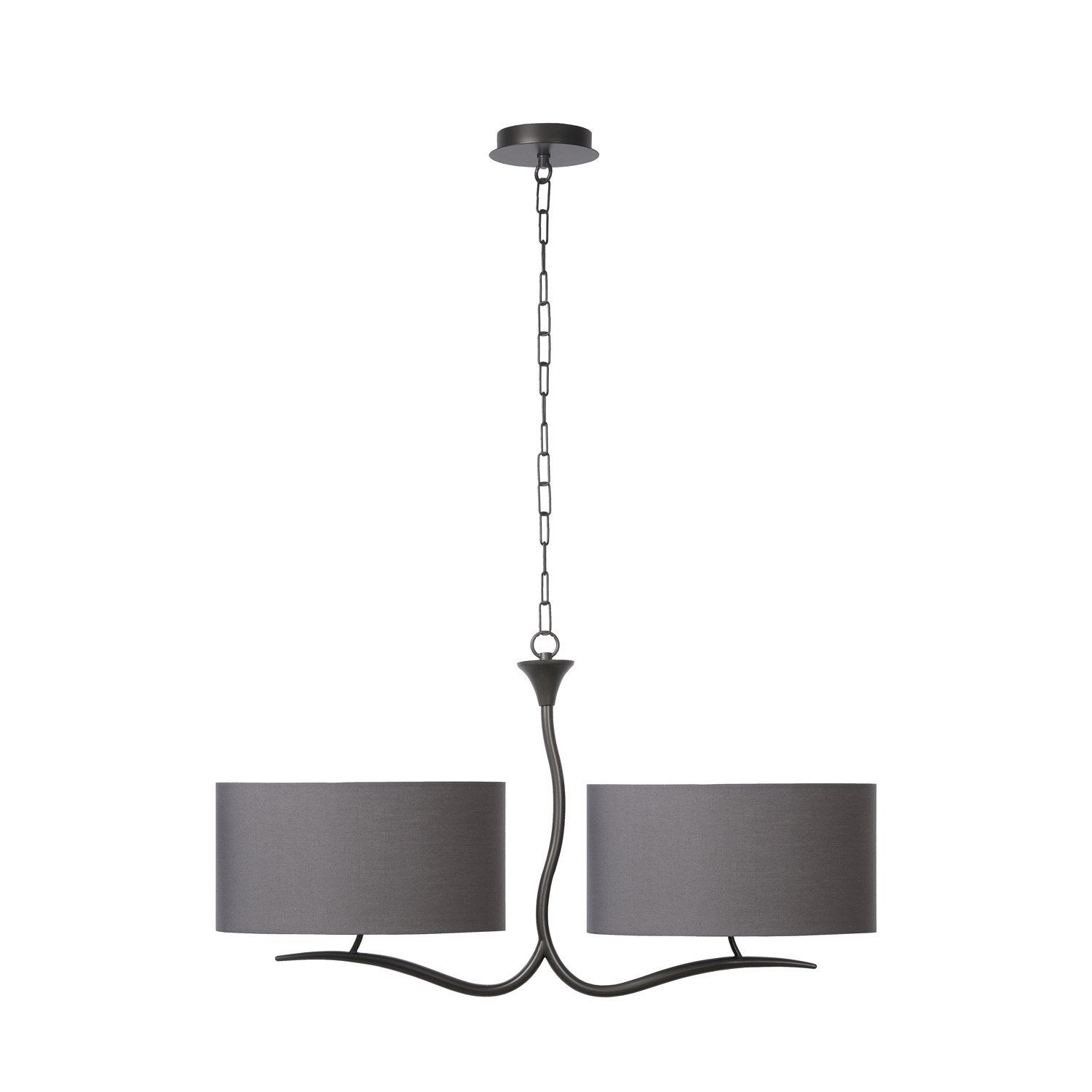 Lustre e27 cordoba m tal gris 2 x 60 w lucide leroy merlin for Leroy merlin cordoba