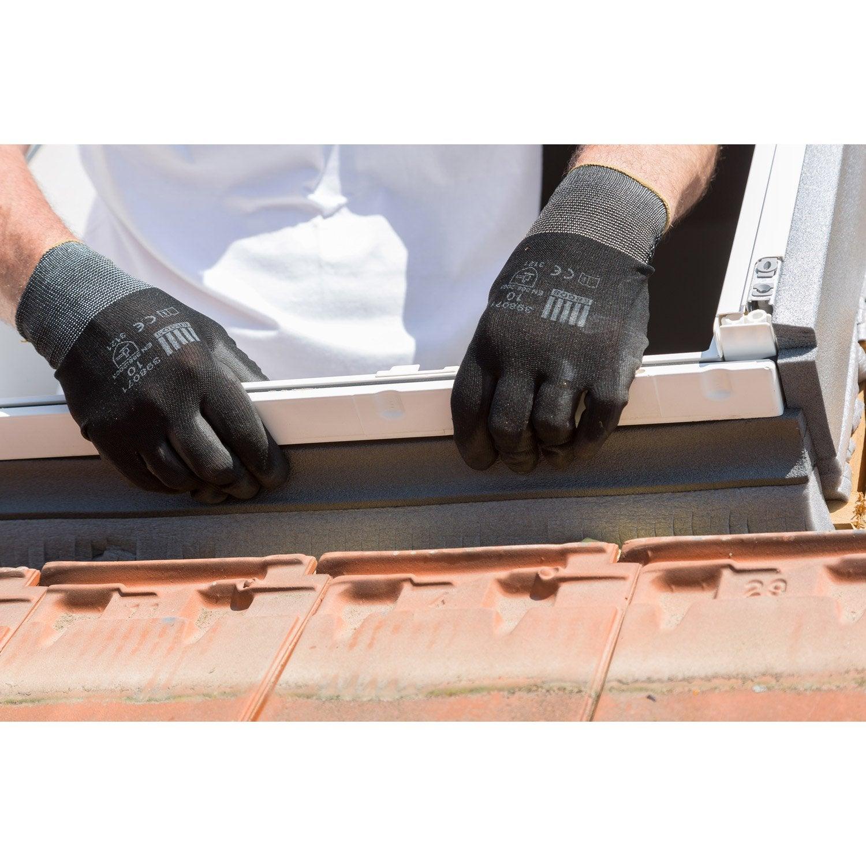 raccord pour fen tre de toit velux ew mk04 6000 gris leroy merlin. Black Bedroom Furniture Sets. Home Design Ideas