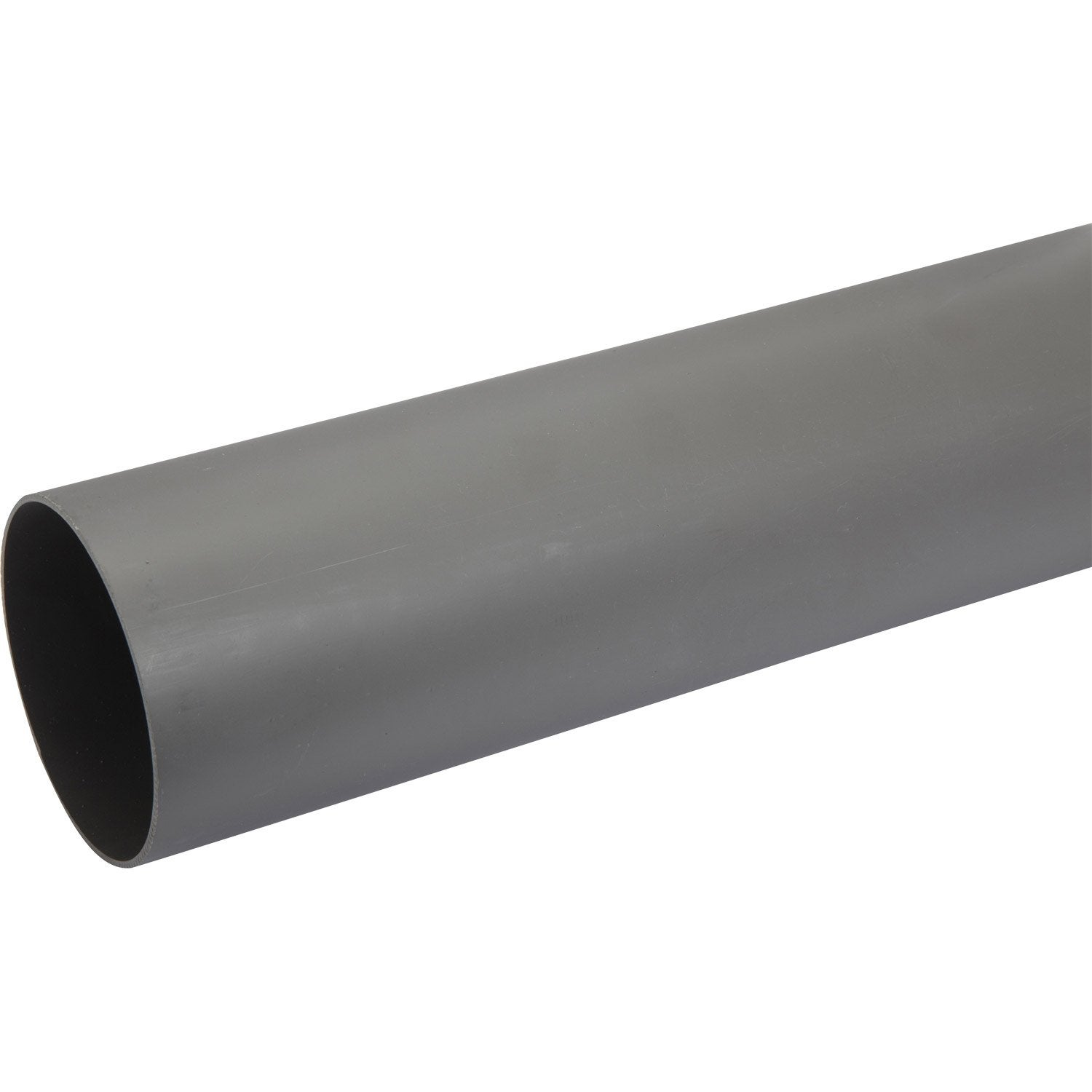 Tube d 39 vacuation pvc mm l 1 m leroy merlin - Quel diametre tuyau pvc evacuation ...