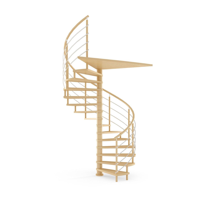escalier helicoidal en bois lapeyre mati re utilis e du. Black Bedroom Furniture Sets. Home Design Ideas