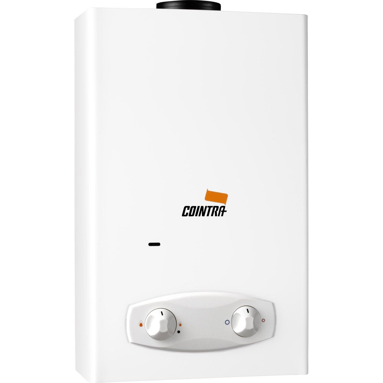 Chauffe eau gaz instantan cointra supr lfr14bb 14 l - Chauffe eau leroy merlin 100l ...