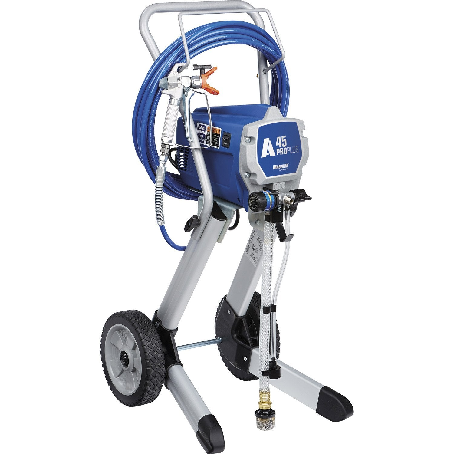 Pompe airless haute pression graco magnum a45 leroy merlin for Peinture haute temperature leroy merlin