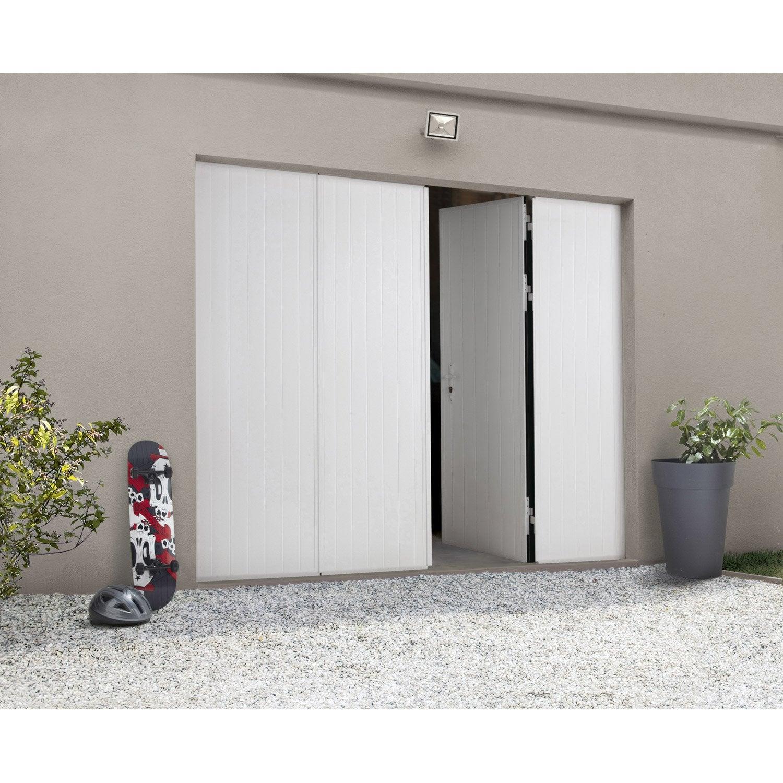 Porte de garage la fran aise sans hublot artens x for Hublot porte de garage leroy merlin