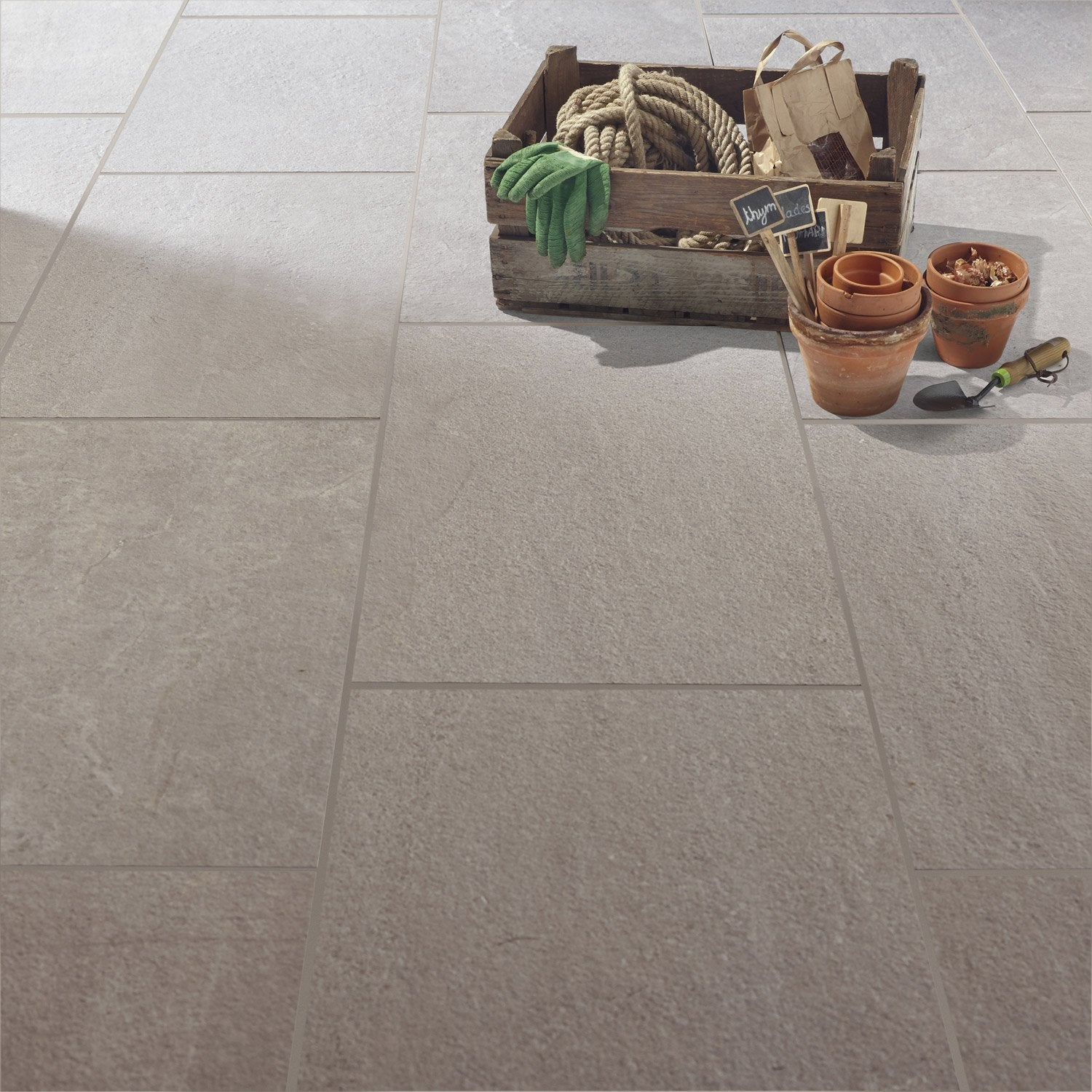 Carrelage sol sable effet pierre story x cm - Sable polymere leroy merlin ...