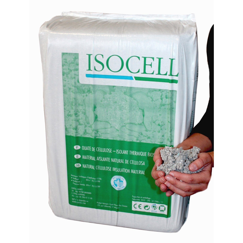 Ouate de cellulose pandre ou souffler 10 kg r - Ouate de cellulose leroy merlin ...