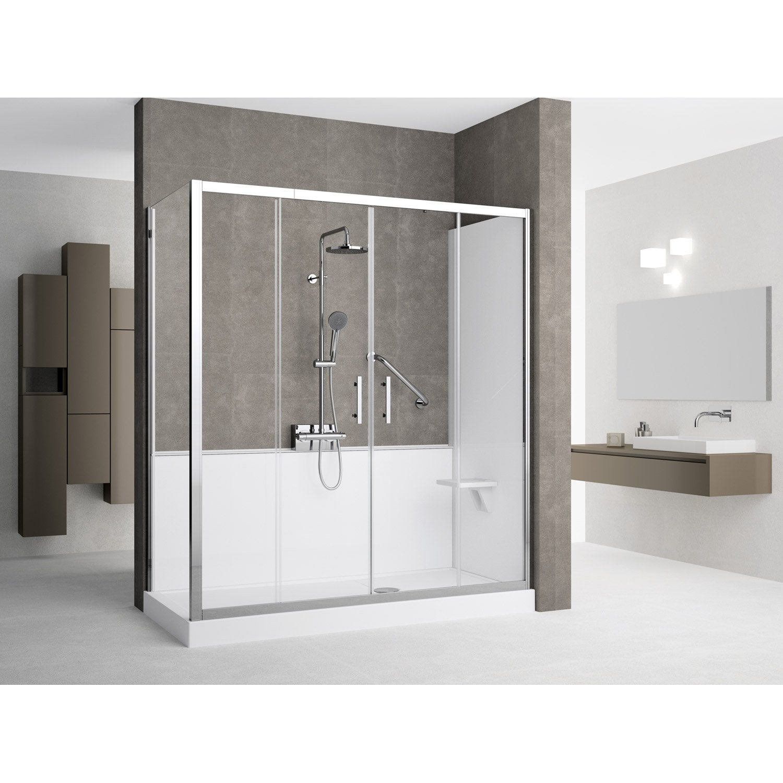 transformer sa baignoire en douche italienne great. Black Bedroom Furniture Sets. Home Design Ideas