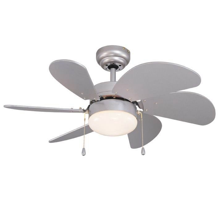 Ventilateur de plafond t n rife inspire gris argent - Leroy merlin tenerife telefono ...