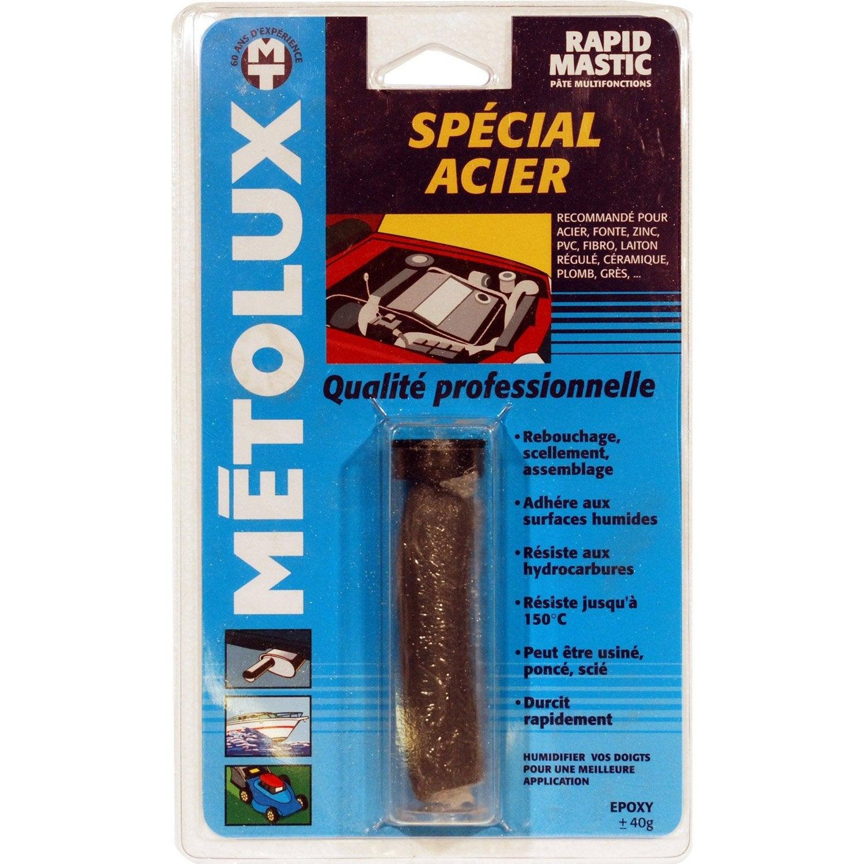 soudure froid sp cial acier metolux rapidmastic s leroy merlin. Black Bedroom Furniture Sets. Home Design Ideas