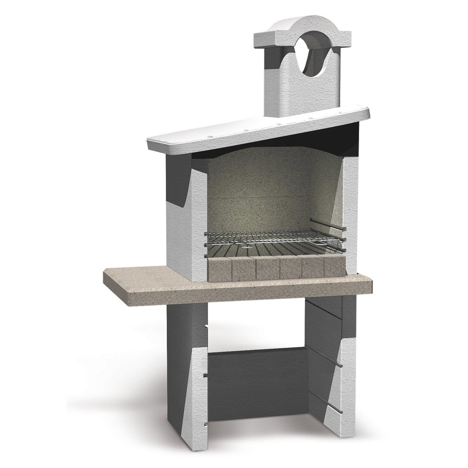 Fabuleux Barbecue fixe, Barbecue béton, Barbecue en pierre | Leroy Merlin NB61