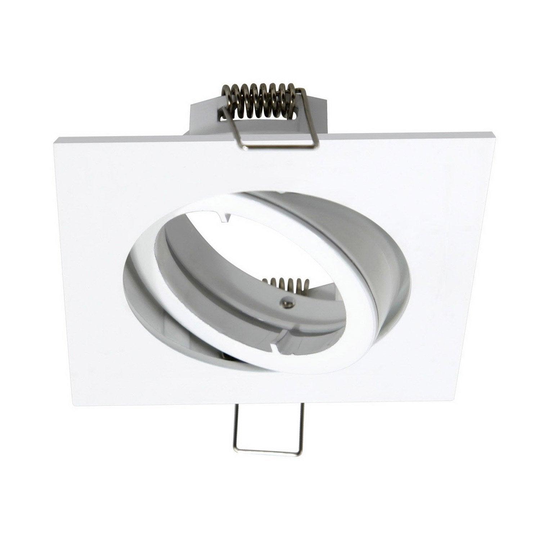 anneau pour spot orientable encastrer bama blanc. Black Bedroom Furniture Sets. Home Design Ideas