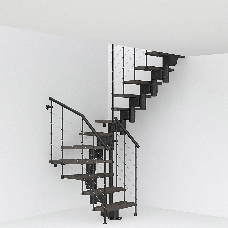 Escalier modulaire long leroy merlin - Escalier demi tournant leroy merlin ...