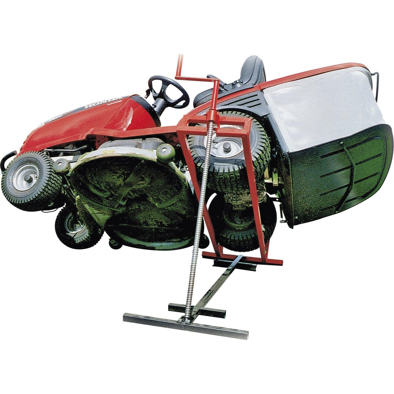L ve autoport e pour autoport e jardin pratic xliftxvs205 acier leroy merlin - Leroy merlin scarificateur ...