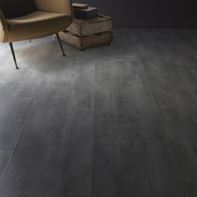 Dalle stratifi e b ton cendr ep 8 mm novofloor leroy - Livraison beton leroy merlin ...