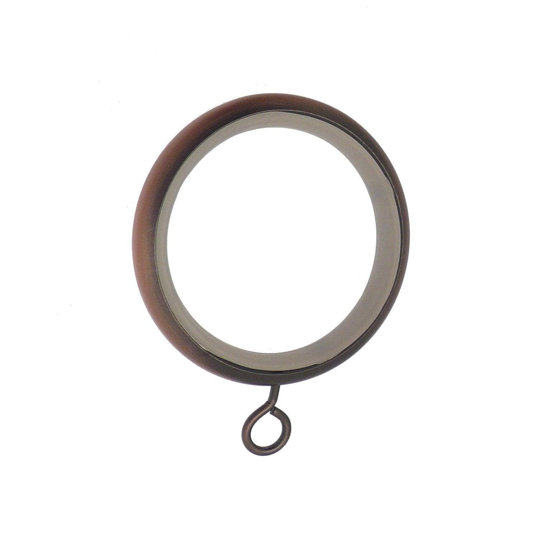 anneaux tringle rideau design 28 mm acier cuivre inspire leroy merlin. Black Bedroom Furniture Sets. Home Design Ideas
