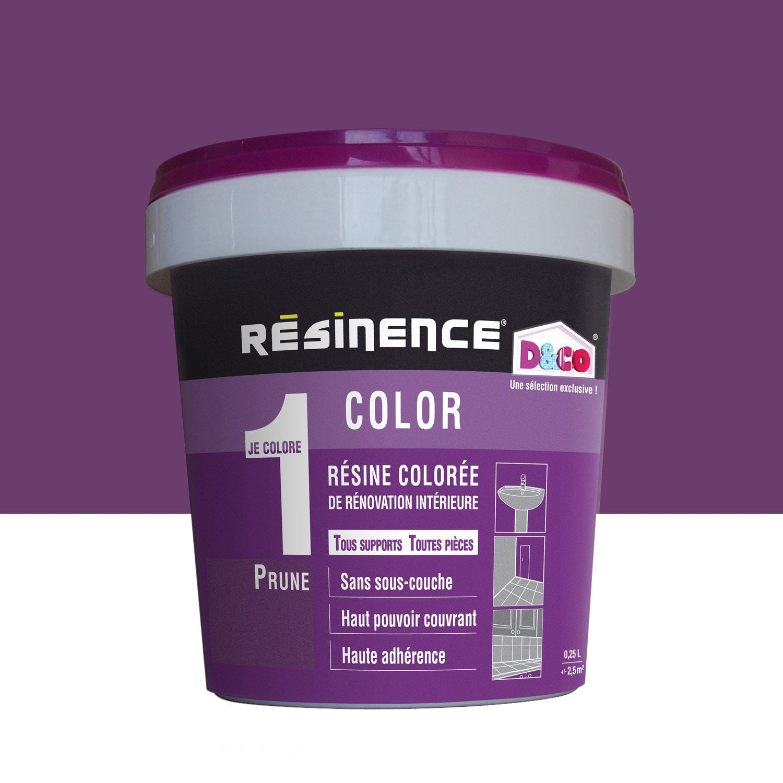 R sine color e color resinence violet prune l - Resinence leroy merlin ...