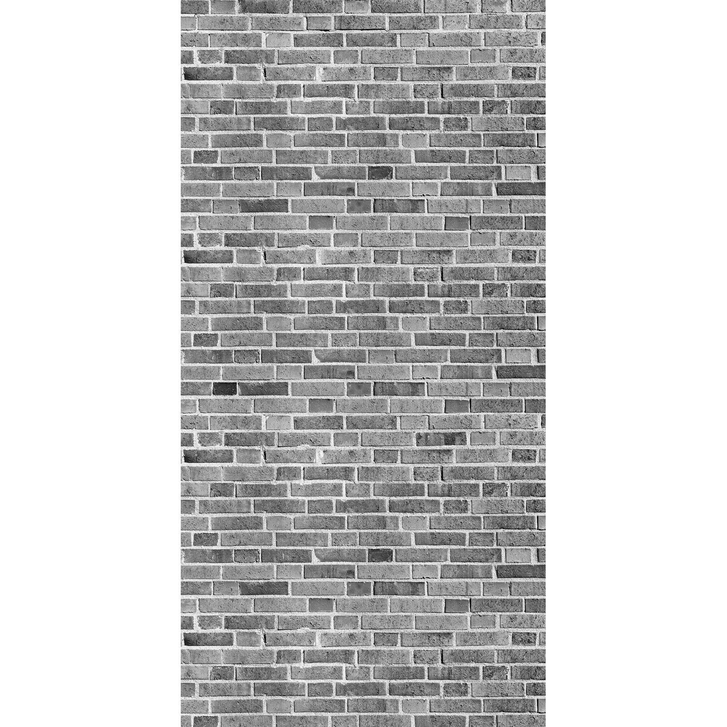panneau mural x cm deco k in grey brick leroy merlin. Black Bedroom Furniture Sets. Home Design Ideas