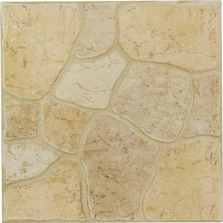 Carrelage ivoire effet pierre galet x cm for Carrelage galet
