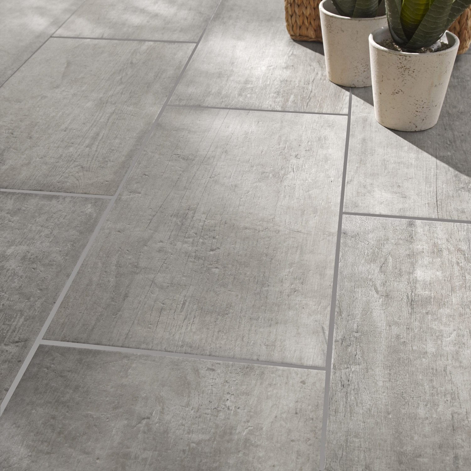 Carrelage 30x60 gris for Carrelage harlem leroy merlin