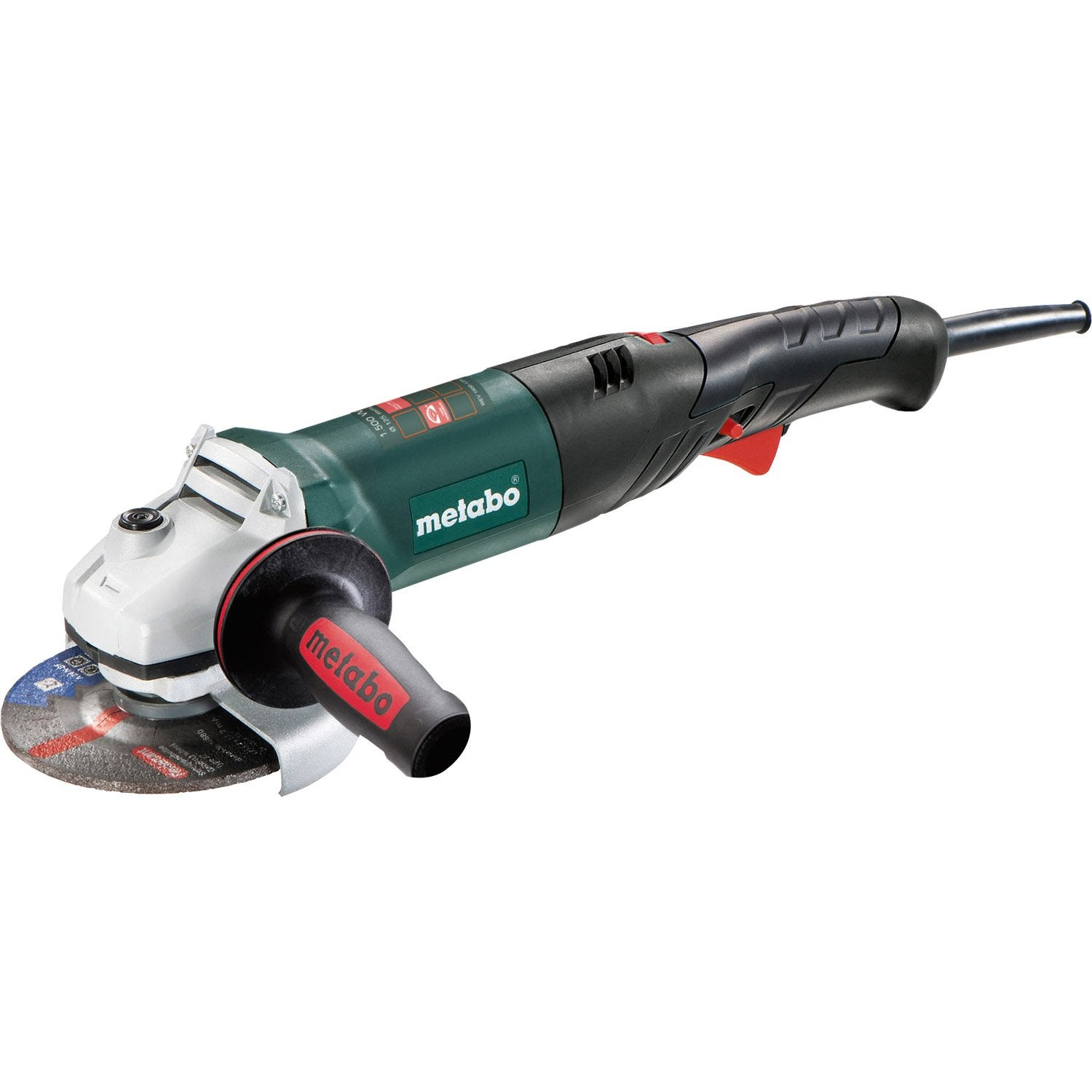 meuleuse d 39 angle filaire metabo wev 1500 125 rt 1500 w leroy merlin