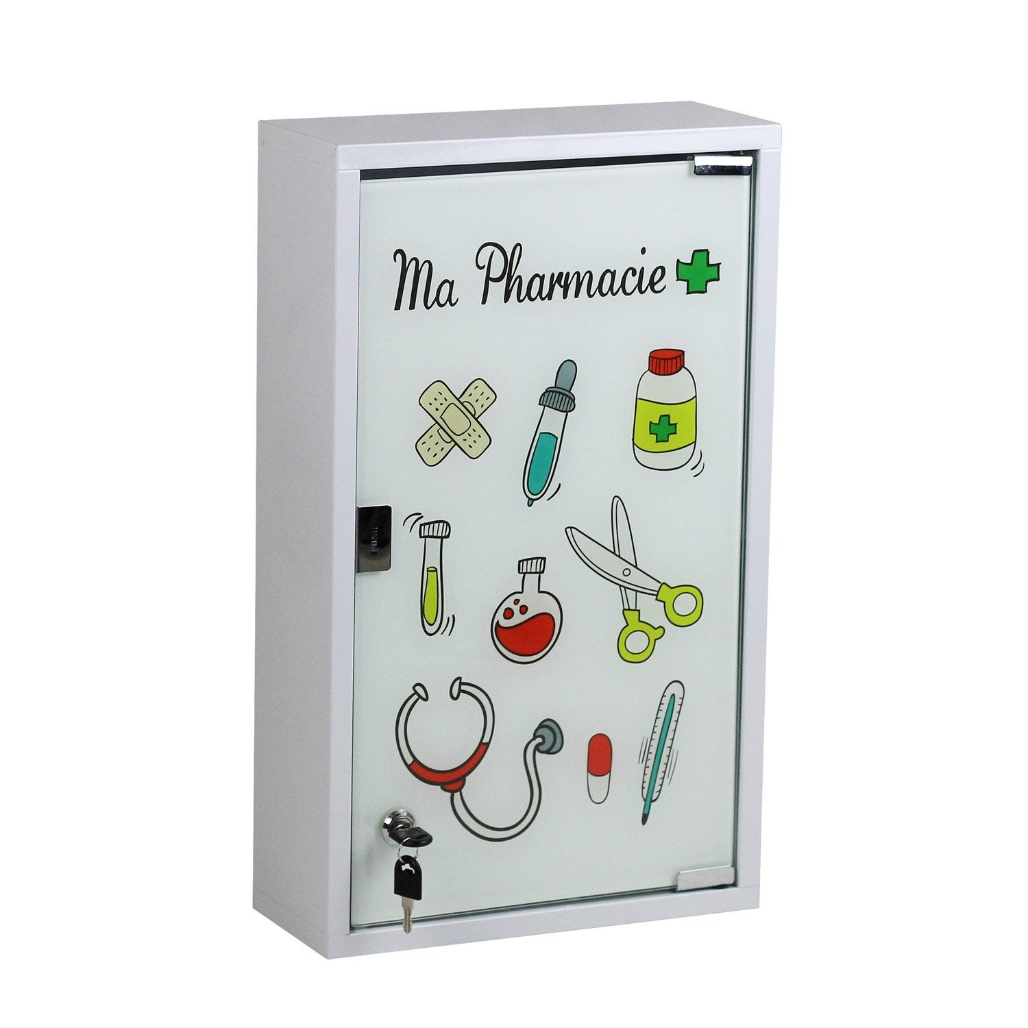 armoire pharmacie blanc cm ma pharmacie leroy merlin. Black Bedroom Furniture Sets. Home Design Ideas